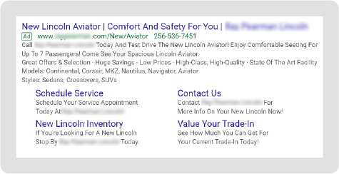 Lincoln Paid Search Example