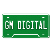 GM Digital License Plate