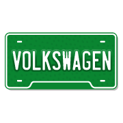 Volkswagen License Plate